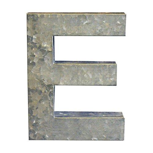 Modelli Creations Alphabet Letter E Wall Decor, Zinc by Modelli Creations