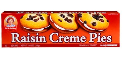 Little Debbie Raisin Creme Pies 10.15 Oz (8 Boxes)