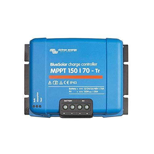 Victron Energy Bluesolar MPPT 150/70-TR 12/24/48 V, 70 A Solar Laderegler, 1 Stück, SCC010070200