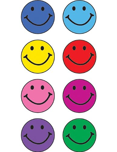 amazon com teacher created resources happy faces mini stickers