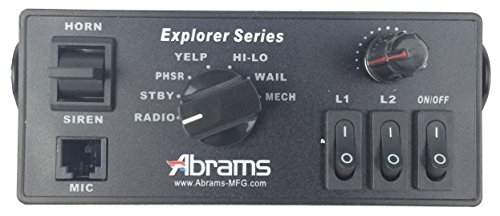 Abrams Explorer Replacement Console Mount Remote for Explorer 100/200 Siren System