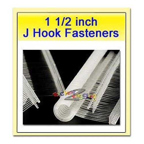 "1-1/2"" J-hook Plastic Fasteners"