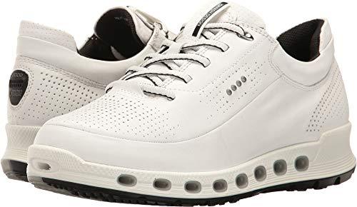 ECCO Women's Women's Cool 2.0 Gore-Tex Sneaker Fashion, White, 41 EU/10-10.5 M US