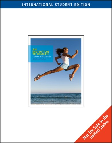 an invitation to health 5th canadian edition pdf