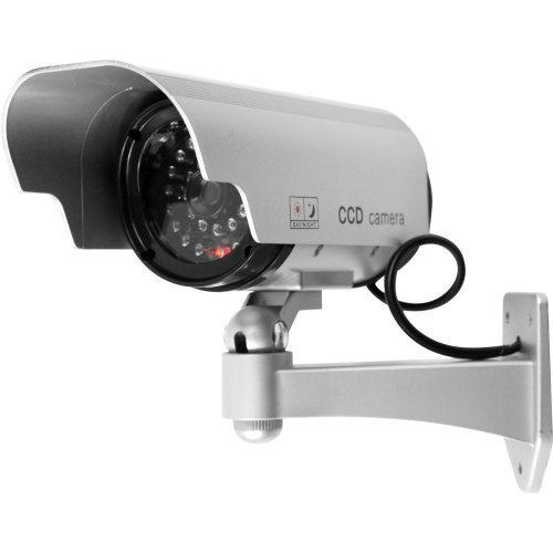 Trademark Home 72-HH659 Security Camera Decoy with Blinking LED and Adjustable Mount by Trademark Home by Trademark Home