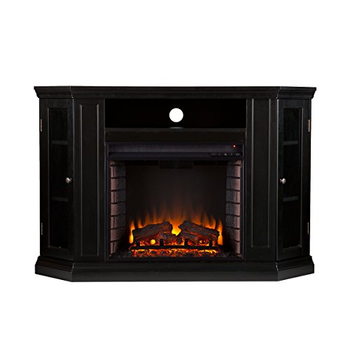 TV Stand with Electric Fireplace Heater: Amazon.com