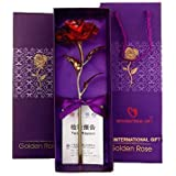 International Gift Valentine Gift Red Rose 25 Cm With Beautiful Gift Box And Carry Bag