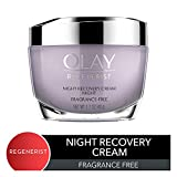 Night Cream by Olay, Regenerist Night Recovery Anti-Aging Face Moisturizer with Vitamin E, 1.7 oz