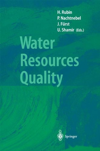 Water Resources Quality: Preserving the Quality of our Water Resources (International Association of Geodesy Symposia, 1