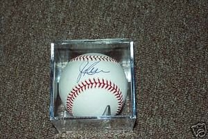 Red Sox Jim Rice Autographed MLB Baseball Autographed Jim Rice