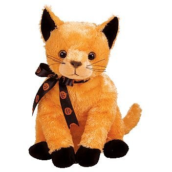 Ty Beanie Babies Scared-e - (Halloween Scared Cat)