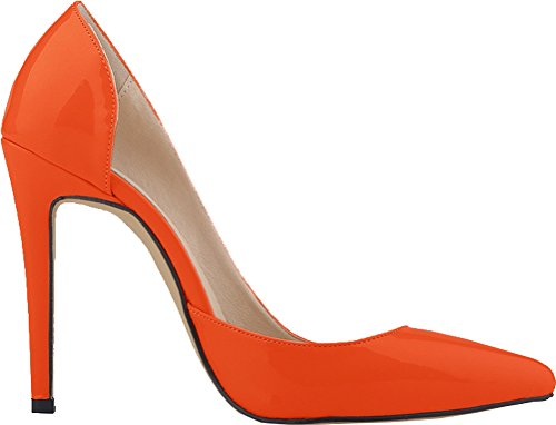 CFP - Sandalias con cuña mujer naranja