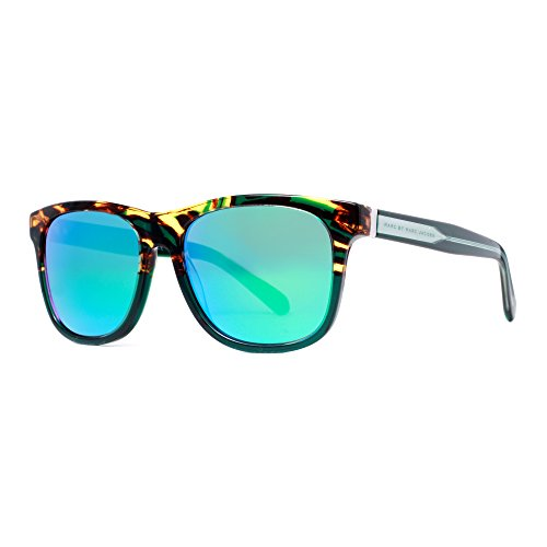 - Marc by Marc Jacobs MMJ360NS Square Sunglasses, Havana Green Crystal & Green, 54 mm