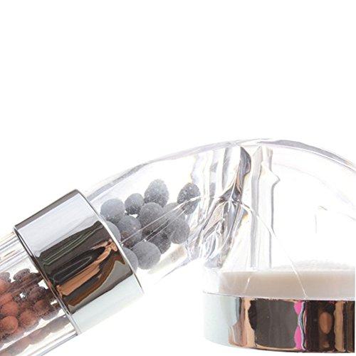 1 Pcs Handheld Water-saving Bath Shower head Nozzle Sprinkler Sprayer Filter Transparent Hand Shower Head Rainful Shower Head free shipping