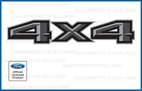 4x4 auto decals - 6