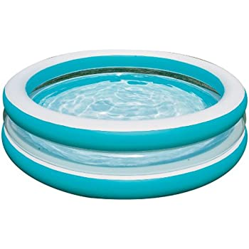 Intex swim center see through inflatable pool 80 x 20 toys games for Intex inflatable rectangular swimming pool