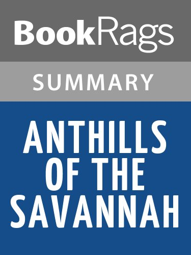 anthills of the savannah essay Isu essay outline things fall apart and anthills of the savannah – chinua achebe intro: chinua achebe is known for his depictions of african society, and his stories often reflect the circumstances of his own upbringing.