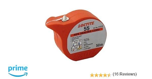 Loctite K97870 Henkel 55 - Sellador de tuberías, multicolor, 50 ml: Amazon.es: Bricolaje y herramientas