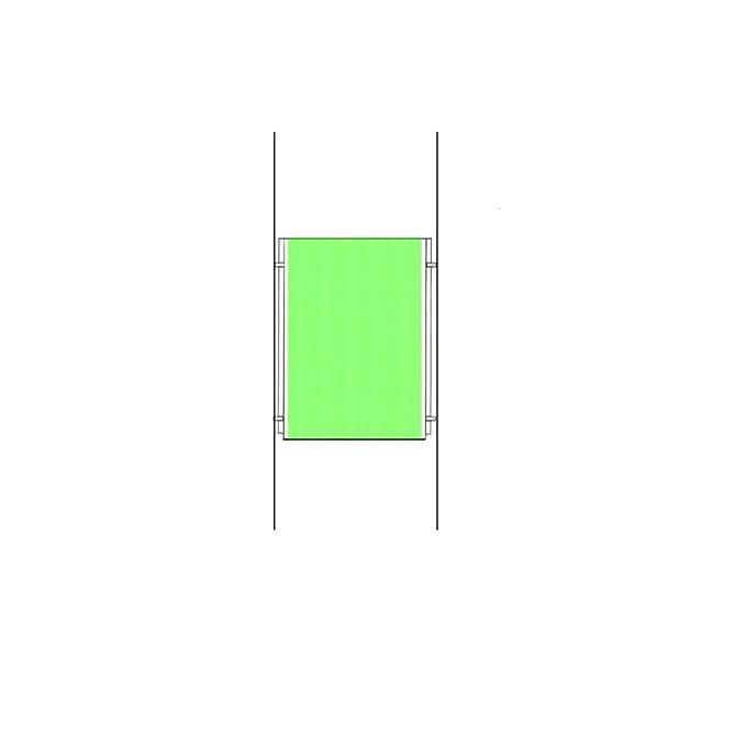 Nuevo A4 paisaje sistema Cable de alambre del cartel de ...