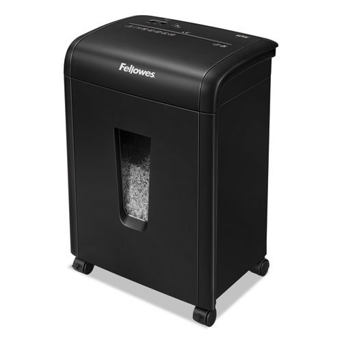 Fellowes 62MC 10-Sheet Micro-Cut Home and Office Paper Shredder with Safety Lock for Added Protection (4685101) (Micro Cut Shredders For Home Use)