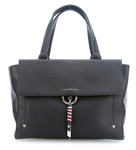 Hilfiger Tommy Bolso Tommy Heritage Hilfiger Negro qUfEUxvZ