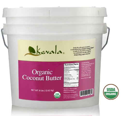Price comparison product image Kevala Organic Coconut Butter, 8 Pound