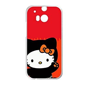 DAZHAHUI Hello kitty Phone Case for HTC One M8 case