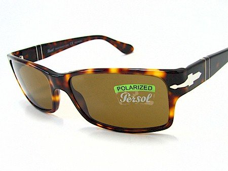 4b6b2f90fbc6b Image Unavailable. Image not available for. Color  PERSOL 2803-S 2803S  Tortoise Brown 24 57 Polarized Sunglasses 58x16
