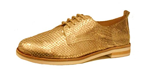 Derbies Reptile 953 Gold 23201 Femme CAPRICE 20 7qdaUUw