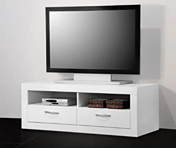 Lowboard Nussbaum Weiss Fernsehschrank Tv Lcd Mobel Rack Schrank