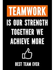 Teamwork is Our Strenght - Together We Achieve More - Best Team Ever: Teamwork Awards | Appreciation Gifts for Employees | Teamwork Gifts | Work Team Appreciation | Employee Gift - Coworkers - Office
