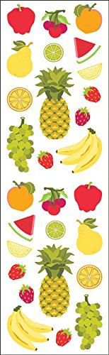 Mrs Grossman Stickers, Fruits - Mrs Grossmans Sticker Sheet