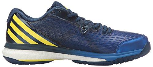adidas Performance Herren Energy Volley Boost 2.0 Volleyballschuh Mystery Blue / Zitronenschale / Satellit