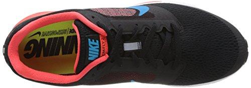 Nike Air Zoom Fly 2 Scarpe sportive, Uomo, Black/Bl Lgn-Brght Crmsn-White, 47