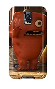 For Ortiz Bland Galaxy Protective Case, High Quality For Galaxy S5 Cartoon Monsters University Scarers Skin Case Cover