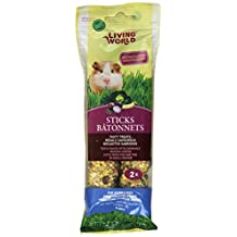 Living World 60673 Guinea Pig Veggie Treat Sticks, 4-Ounce