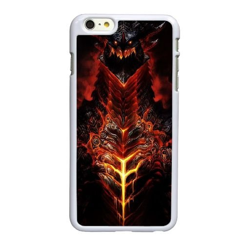 S8L13 démon B2J0QV coque iPhone 6 4.7 pouces cas de couverture de téléphone portable coque blanche WR3DJQ7SN