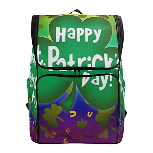 (Laptop Backpack Happy St Patrick's Day Gym Backpack for Women Big Casual Fashion Back Pack)