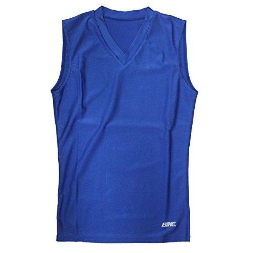 ヘッジ枯渇ホップBIKE インナーシャツ BK4812 ((021) ブルー, S)