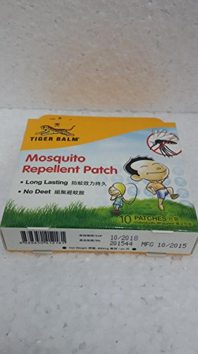 Tiger Balm Mosquito Repellent Patch Buy Online In Oman Baby