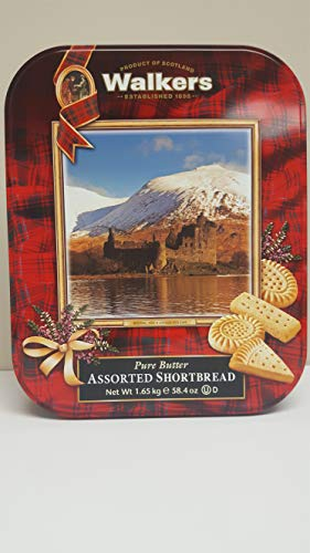 Walkers Pure Butter Assorted Shortbread Cookie, 58.4 Ounce (Best Holiday Shortbread Cookies)