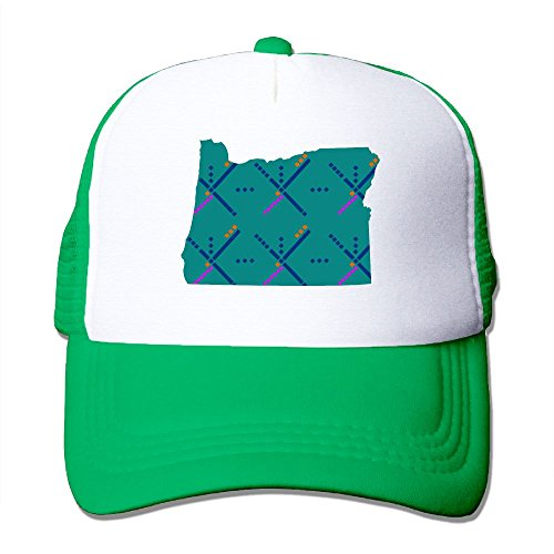 ZhiqianDF Mens Portland Oregon PDX Airport Carpet Cool Basketball KellyGreen Mesh Caps Hats Adjustable - Airport Boston Usa