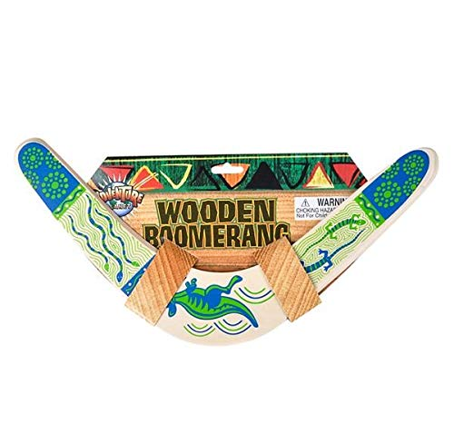 Rhode Island Novelty Wooden Boomerang Colors May Vary