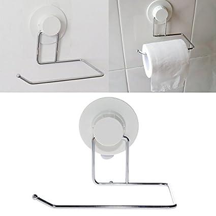 Papel higiénico soporte baño ventosa colgador tela toalla de cocina gancho 86cdb8c8bec0