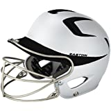 Easton Two-Tone Natural Grip Junior Batting Helmet with Mask