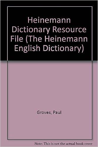 Heinemann Dictionary Resource File (Heinemann English Dictionary ...