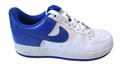 Nike Air Force 1 07 Chaussures De Sport 315122 Chaussures De Sport White Varsity Royal 143