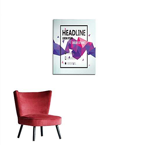 (longbuyer Corridor/Indoor/Living Room Vector Poster Banner Flyer Cover Brochure Faceted Template Design Mural)