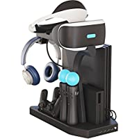 Skywin PSVR Charging Display Stand - Showcase, Cool,...