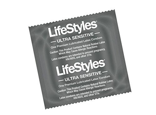 NEW Ultra Sensitive Condoms Specially lubricated for maximum pleasure and glide Almost like wearing nothing at all : 12 Premium Lubricanted Latex Condoms